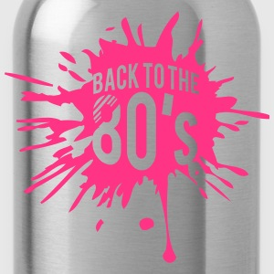 Back to the 80s Design T-Shirts - Trinkflasche