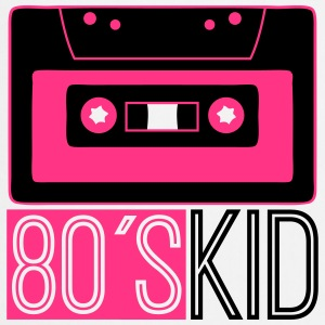 80s Kid Cassette Logo T-Shirts - Cooking Apron