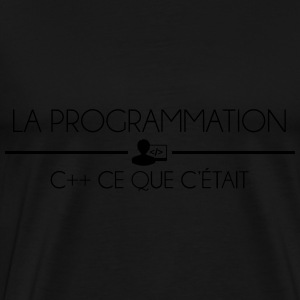 Programmation C++ Sweat-shirts - T-shirt Premium Homme