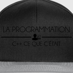 Programmation C++ Tee shirts - Casquette snapback