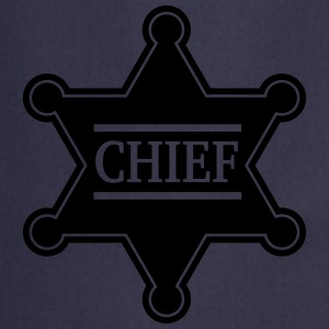 Chief Sheriff Star, Wild West America, Chef, Boss T-shirts - Keukenschort