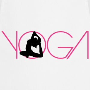 Text woman logo Yoga exercise T-Shirts - Cooking Apron