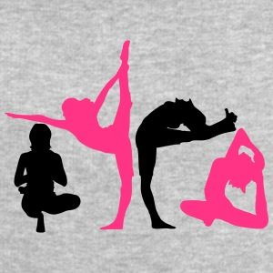 4 women in yoga exercise T-Shirts - Men's Sweatshirt by Stanley & Stella