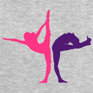 2 femmes dans l'exercice d'yoga Tee shirts - Sweat-shirt Homme Stanley & Stella