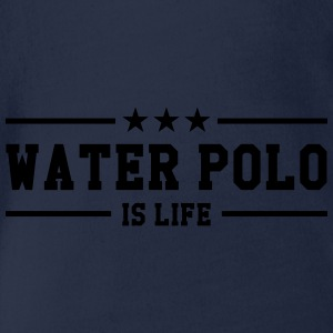 Water Polo is life Shirts - Baby bio-rompertje met korte mouwen
