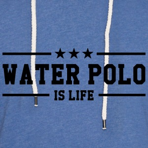 Water Polo is life Gensere - Lett unisex hette-sweatshirt