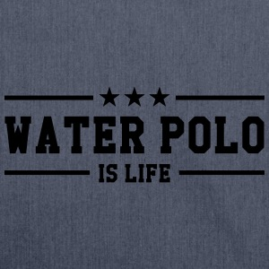 Water Polo is life Hoodies - Shoulder Bag made from recycled material