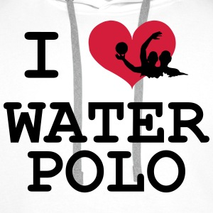 Water Polo T-Shirts - Men's Premium Hoodie