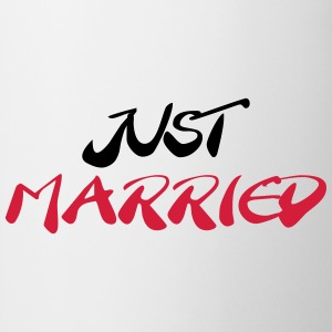 Just married Magliette - Tazza