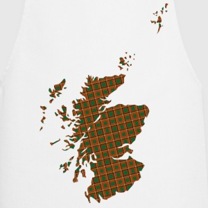 Scotland in check pattern T-Shirts - Cooking Apron
