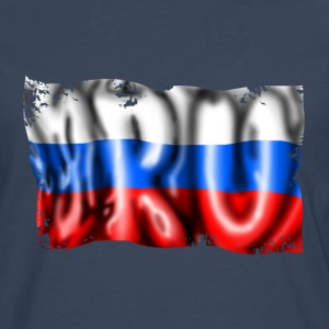 Russian flag T-Shirts - Men's Premium Longsleeve Shirt