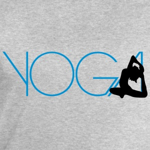 Texte Yoga exercice femmes logo Tee shirts - Sweat-shirt Homme Stanley & Stella