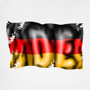 Germany flag Magliette - Cappello con visiera