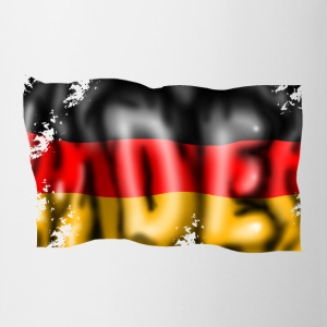 Germany flag T-shirts - Kop/krus