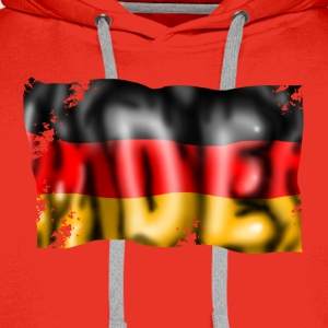 Germany flag T-Shirts - Men's Premium Hoodie