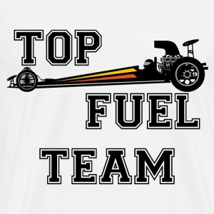 top dragster team Long sleeve shirts - Men's Premium T-Shirt