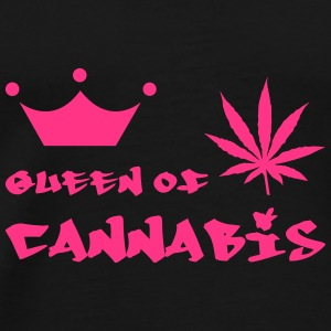 Queen of Cannabis Kepsar & mössor - Premium-T-shirt herr