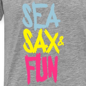 SEA SAX AND FUN Tops - Men's Premium T-Shirt