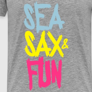 SEA SAX AND FUN Débardeurs - T-shirt Premium Homme