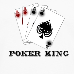 Poker King Mug - Men's Premium Longsleeve Shirt