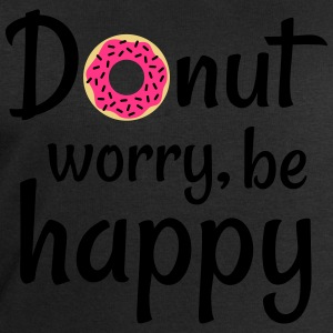 Donut worry be happy T-Shirts - Men's Sweatshirt by Stanley & Stella