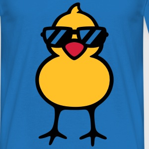 cool chick (rd) Tops - Männer T-Shirt