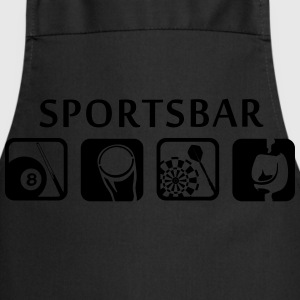 Sports bar - Sportsbar Camisetas - Delantal de cocina