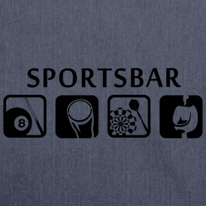 Pub Sports - Sportsbar T-Shirts - Shoulder Bag made from recycled material