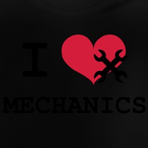 I Love Mechanics Shirts - Baby T-shirt