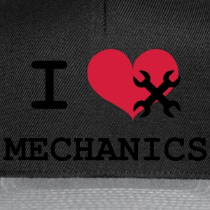 I Love Mechanics Flaskor & muggar - Snapbackkeps