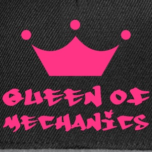 Queen of Mechanics T-shirts - Snapbackkeps
