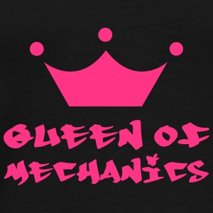 Queen of Mechanics Flaschen & Tassen - Männer Premium T-Shirt
