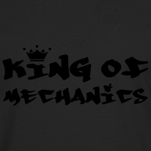King of Mechanics T-shirts - Herre premium T-shirt med lange ærmer