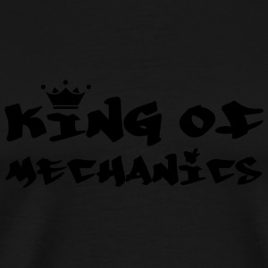 King of Mechanics Flaschen & Tassen - Männer Premium T-Shirt