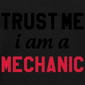 Trust me I am a Mechanic Flasker & krus - Herre premium T-shirt