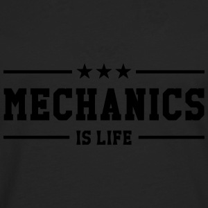 Mechanics is life T-shirts - Herre premium T-shirt med lange ærmer
