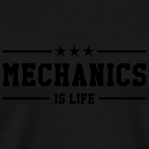 Mechanics is life Flasker & krus - Herre premium T-shirt