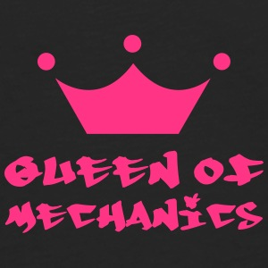 Queen of Mechanics Kasketter & Huer - Herre premium T-shirt med lange ærmer