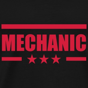 Mechanic Caps & Hats - Men's Premium T-Shirt