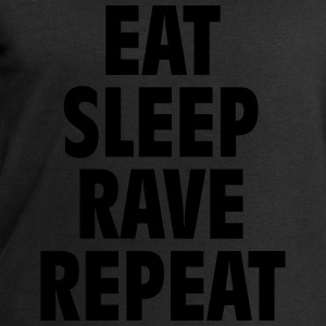 Eat sleep rave repeat T-Shirts - Männer Sweatshirt von Stanley & Stella
