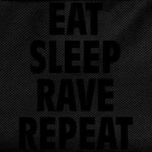 Eat sleep rave repeat Hoodies & Sweatshirts - Kids' Backpack