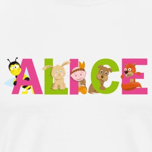 Alice Tee shirts - T-shirt Premium Homme