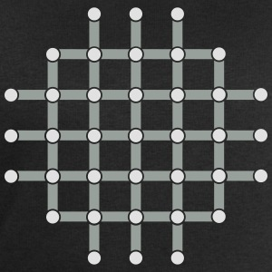 Optical illusion, Find the black dot! T-Shirts - Men's Sweatshirt by Stanley & Stella