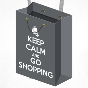 Keep calm and go shopping Tee shirts - Sweat-shirt à capuche Premium pour hommes