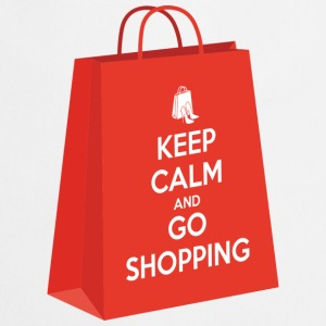 Keep calm and go shopping Tee shirts - Tablier de cuisine