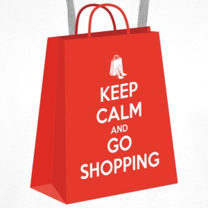 Keep calm and go shopping T-Shirts - Men's Premium Hoodie