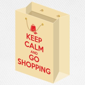 Keep calm and go shopping T-Shirts - Baseball Cap