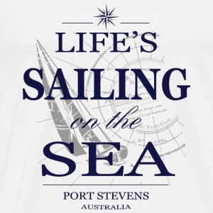 Sailing on the sea Tops - Männer Premium T-Shirt