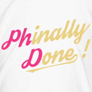 Phinally Done! - Men's Premium T-Shirt