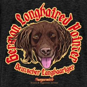 german longhaired pointer Sweaters - Mannen Premium T-shirt